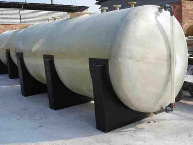 缠绕玻璃钢卧式罐 储罐 贮罐 储槽 贮槽