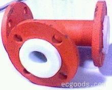 钢衬四氟三通管道及配件