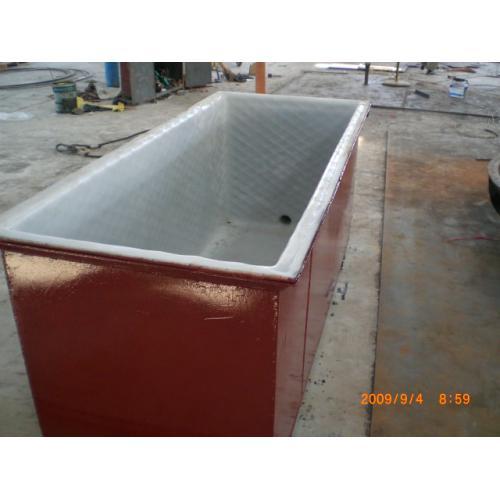 钢衬塑储槽, 酸洗槽