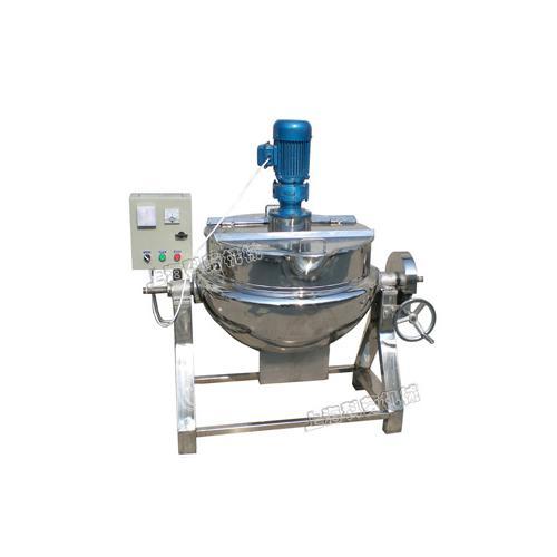 导热油电加热夹层锅-上海科劳机械