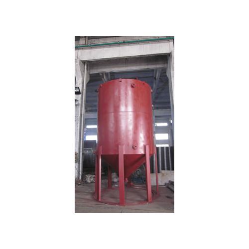 锥底钢衬塑储罐 沉淀罐