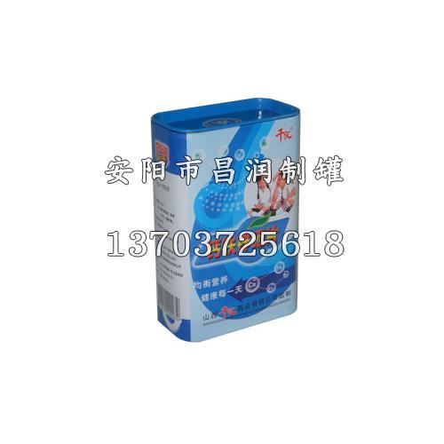 河北制罐厂家 食品印铁包装罐昌润