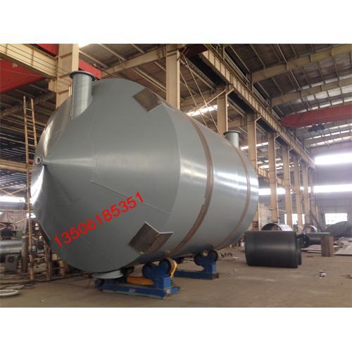 现场加工500立方钢衬塑储罐 搅拌罐