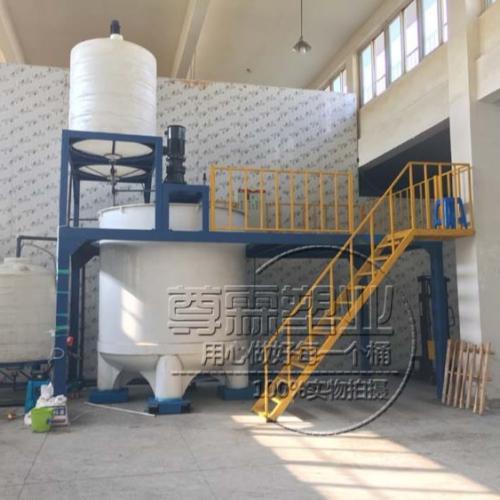 10吨聚羧酸合成设备 10立方混凝土外加剂合成设备